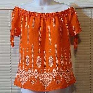Society girl woman's blouse